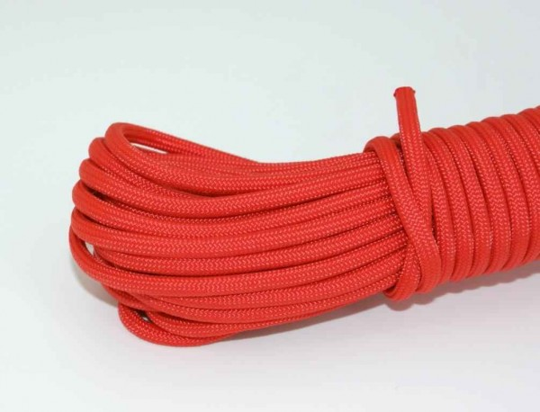 Paracord 550 Typ III - Rot - 10 Meter