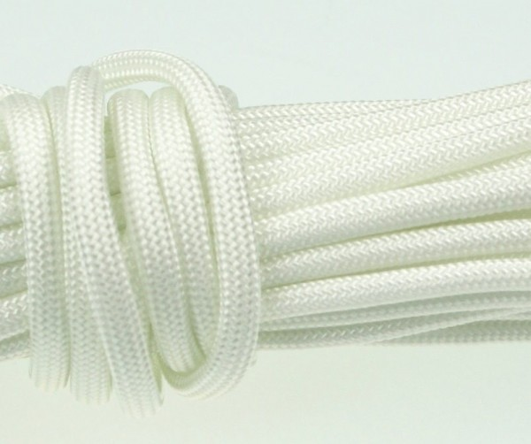 Paracord 550 Typ III Made in USA - Weiß - 10 Meter