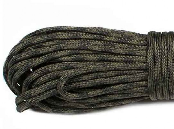 Paracord 550 Typ III - black forest 309 - 10 Meter
