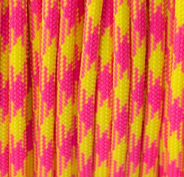 Paracord 550 Typ III Made in USA - Tutti Fruity - 15 Meter