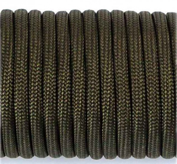 Paracord 550 Typ III - army green / khaki - 10 Meter